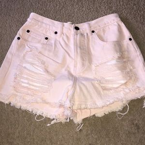 Signature 8shorts! Small Pink!